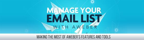 aweber list management videos